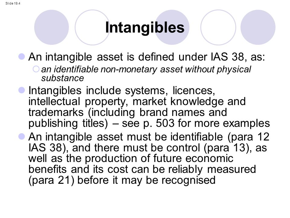 Rd Goodwill Intangible Assets And Brands Ppt Video Online Download