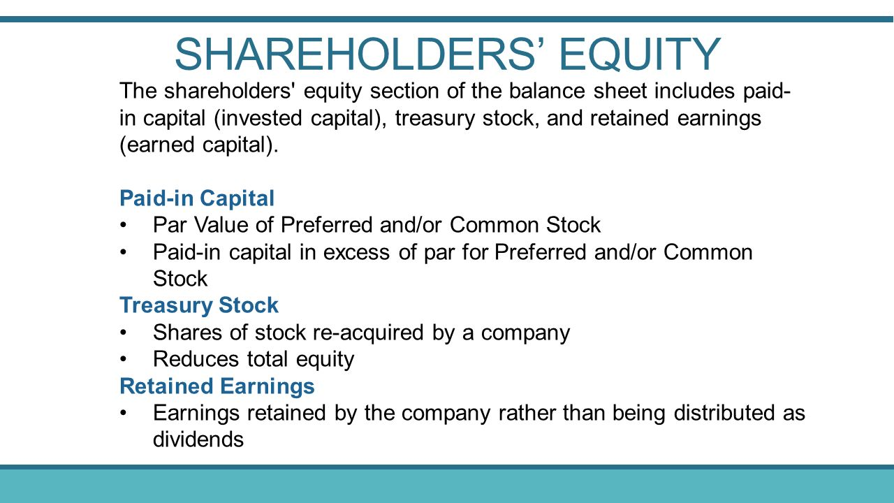 The Balance Sheet and Financial Disclosures - ppt video