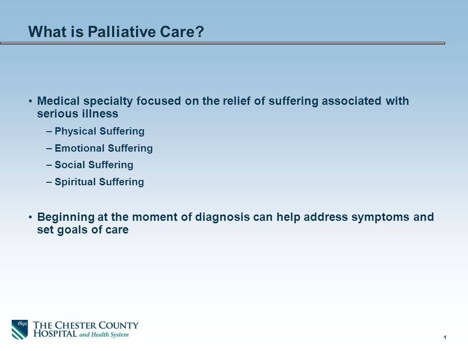What is Palliative Care? - ppt download