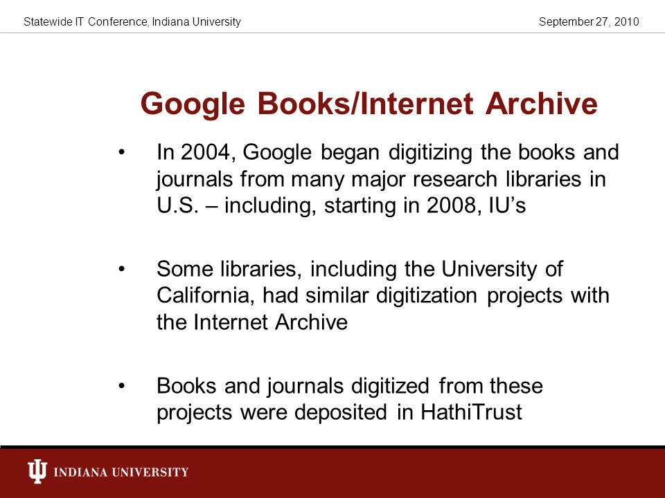 Google Books/Internet Archive