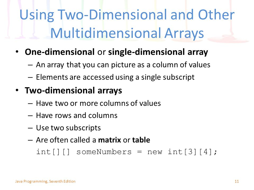 Chapter 9: Advanced Array Concepts - ppt video online download