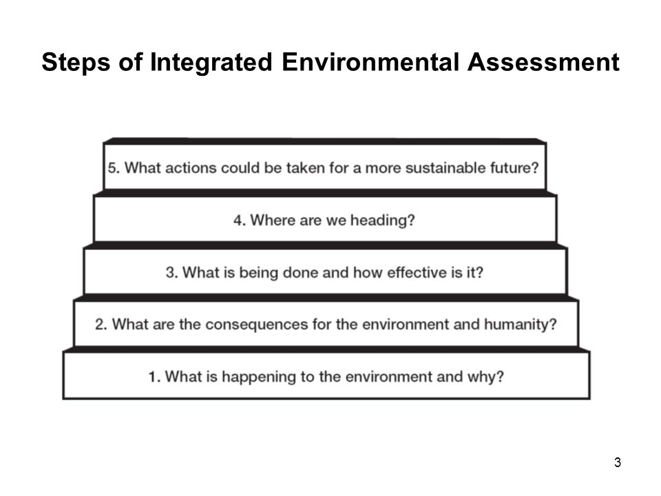 Steps of Integrated Environmental Assessment