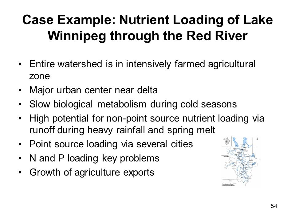 Case Example: Nutrient Loading of Lake Winnipeg through the Red River