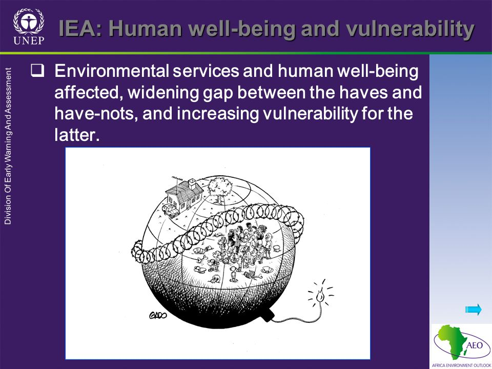 IEA: Human well-being and vulnerability