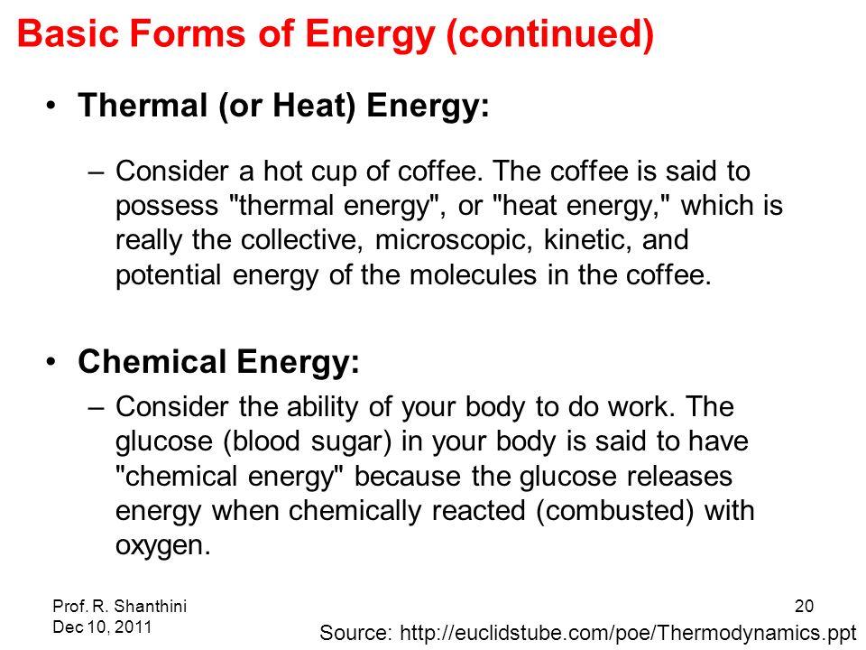 Energy Basics Module 01 Energy Power Forms of energy - ppt video