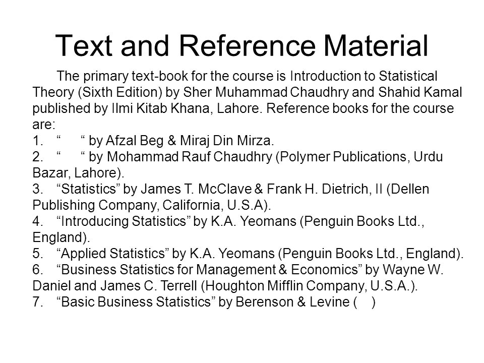 introduction to statistical theory part 1 by prof sher muhammad chaudhry key book