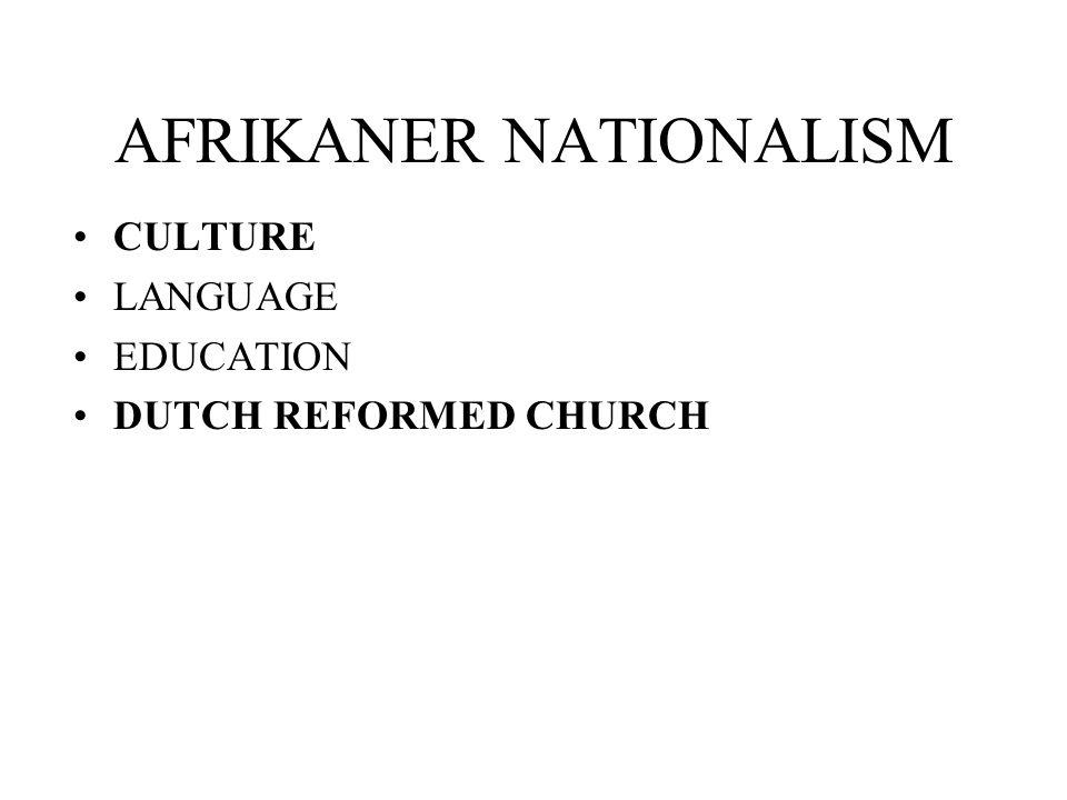 definition of afrikaner nationalism