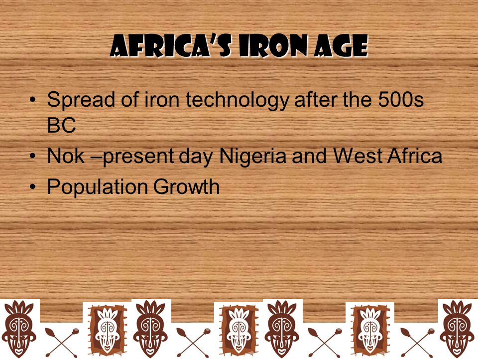 iron technology in africa