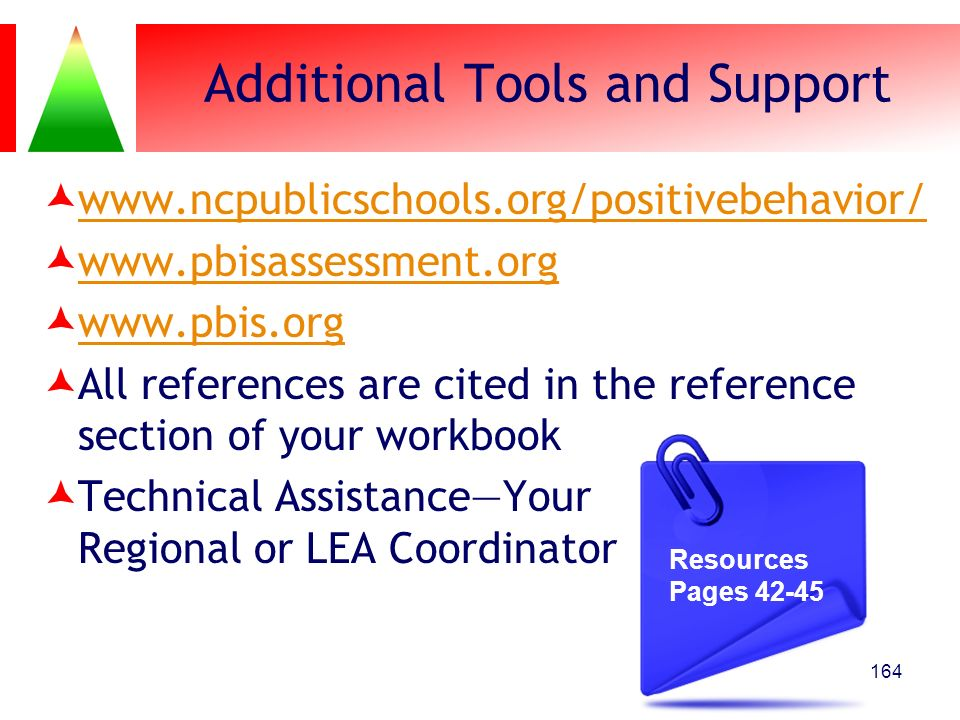 Additional Tools and Support