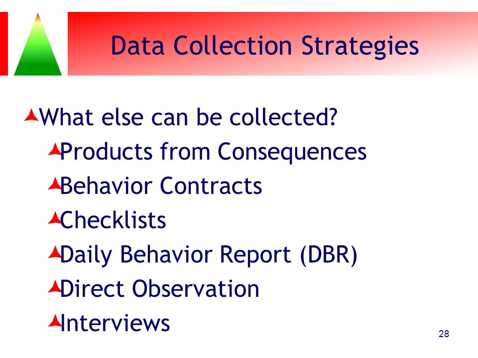 Data Collection Strategies