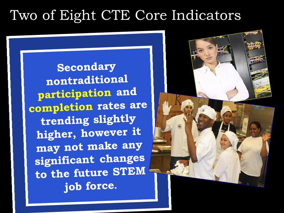 Two of Eight CTE Core Indicators
