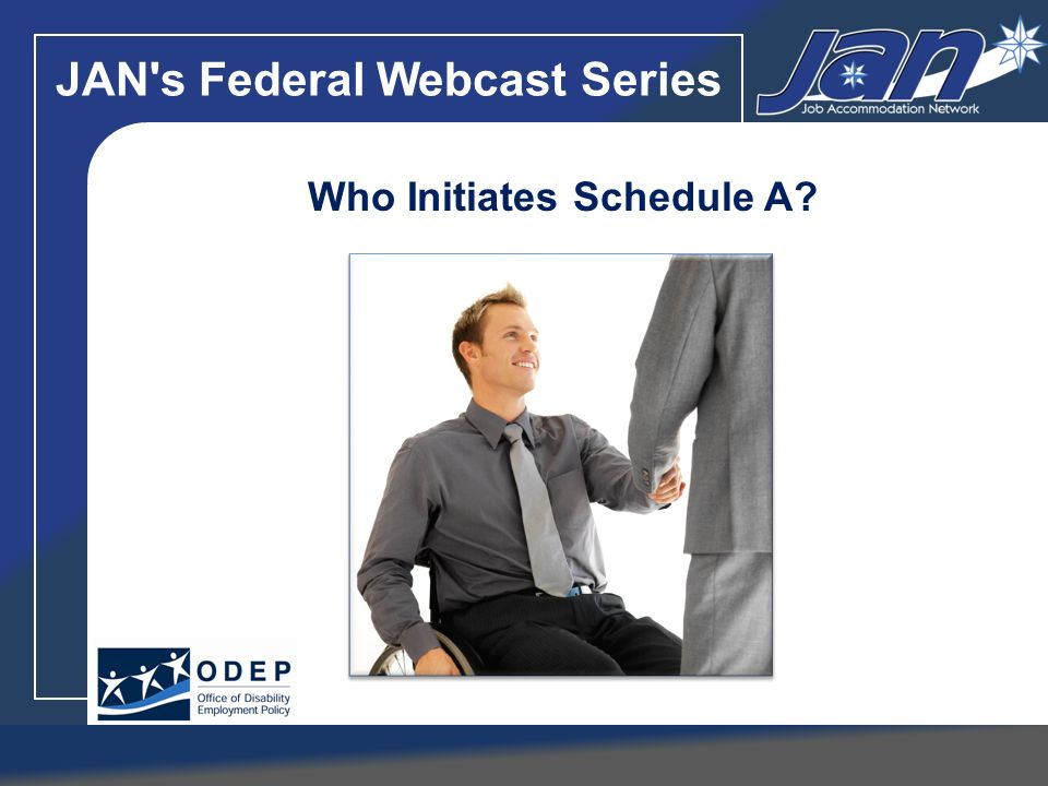 JAN s Federal Webcast Series