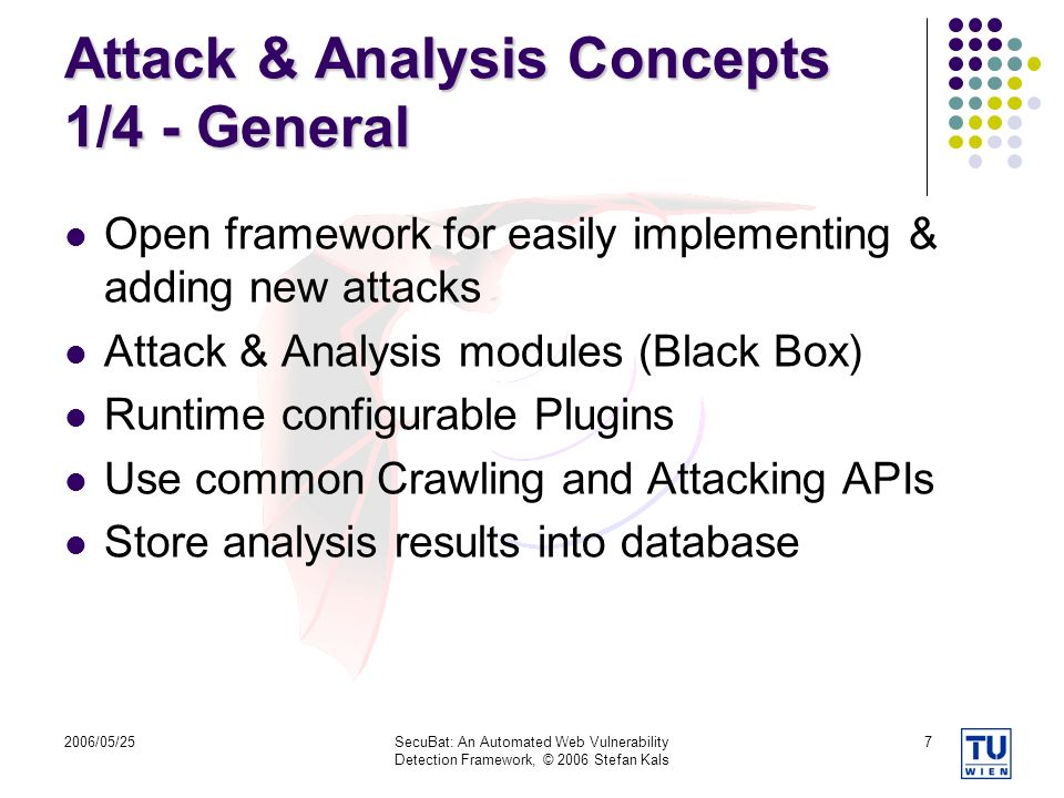 Attack & Analysis Concepts 1/4 - General