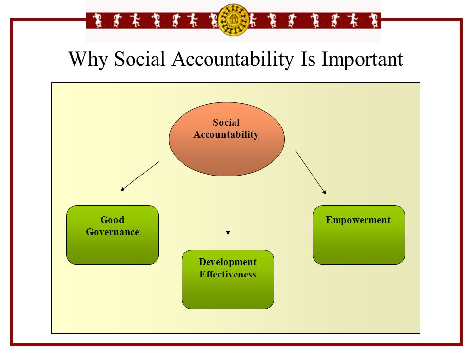 Why Social Accountability Is Important