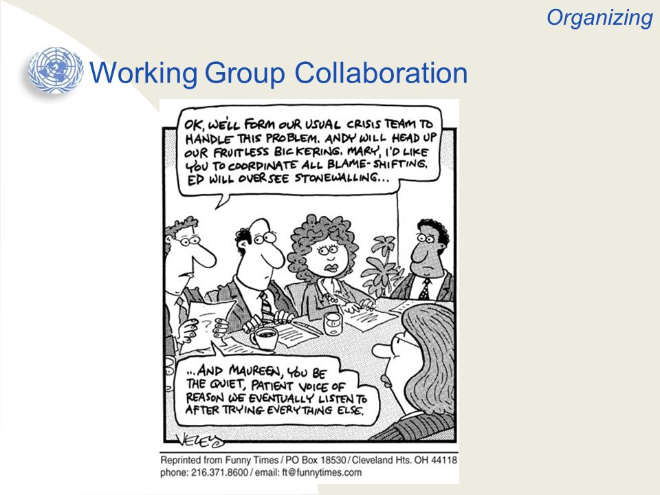 Working Group Collaboration