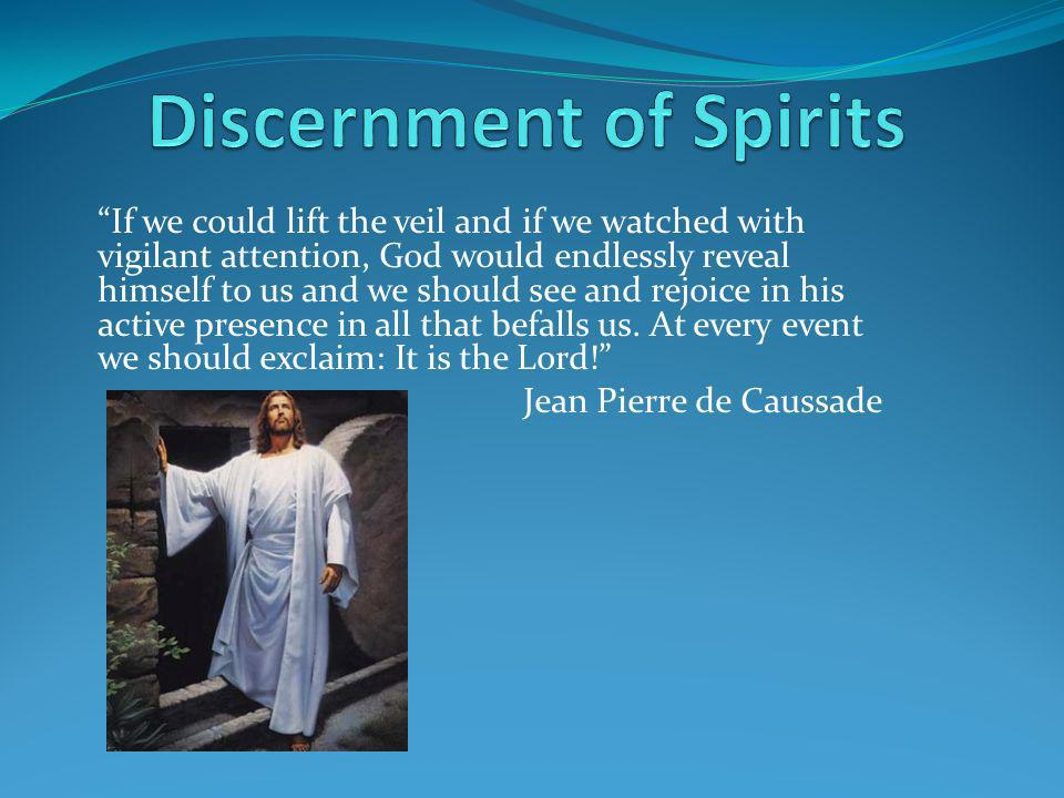Discernment of Spirits