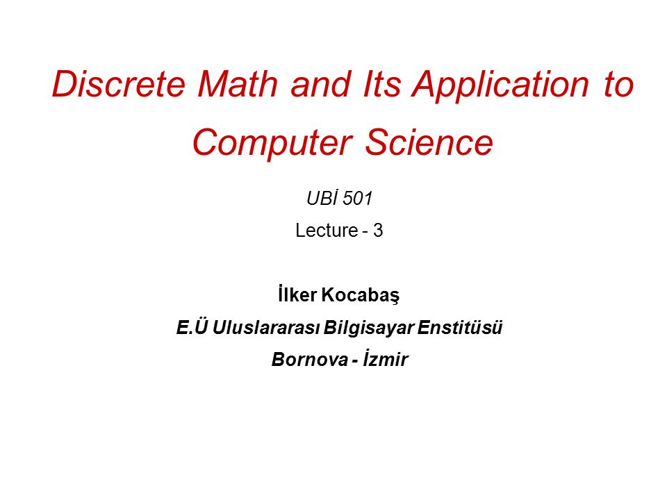 Mathematical foundation of computer science notes pdf december.