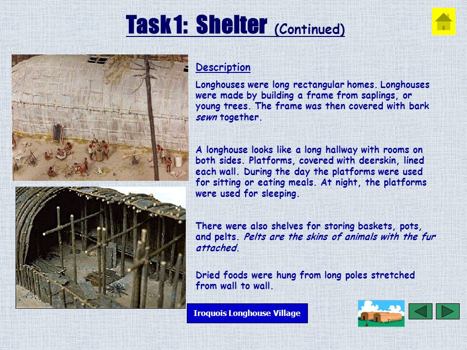 Iroquois Longhouse  - ppt video online download