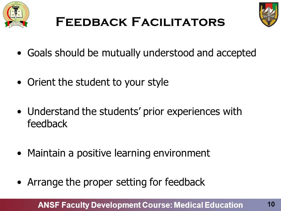 Feedback Facilitators