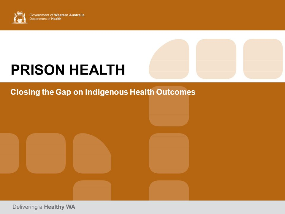 Closing the Gap on Indigenous Health Outcomes