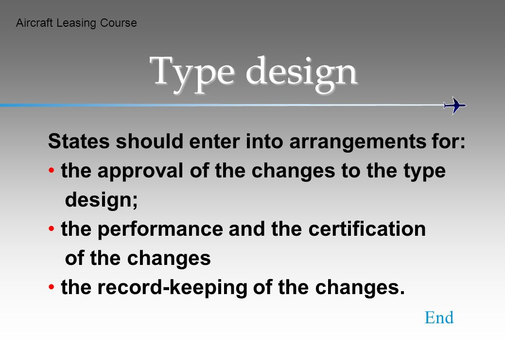 Type design States should enter into arrangements for: