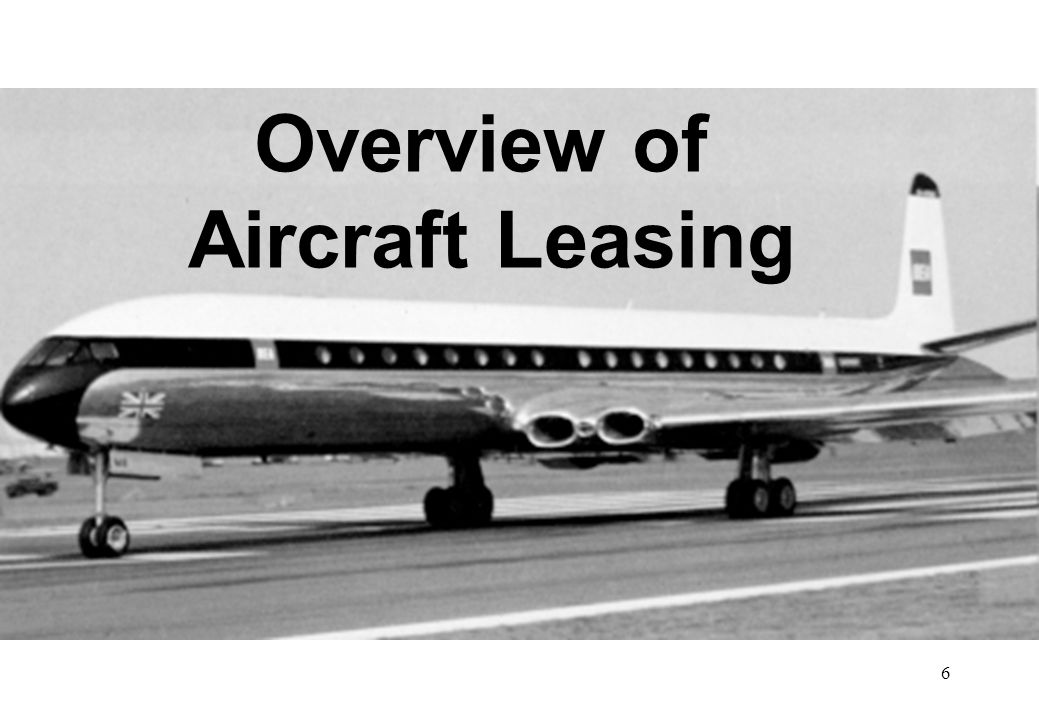 Overview of Aircraft Leasing