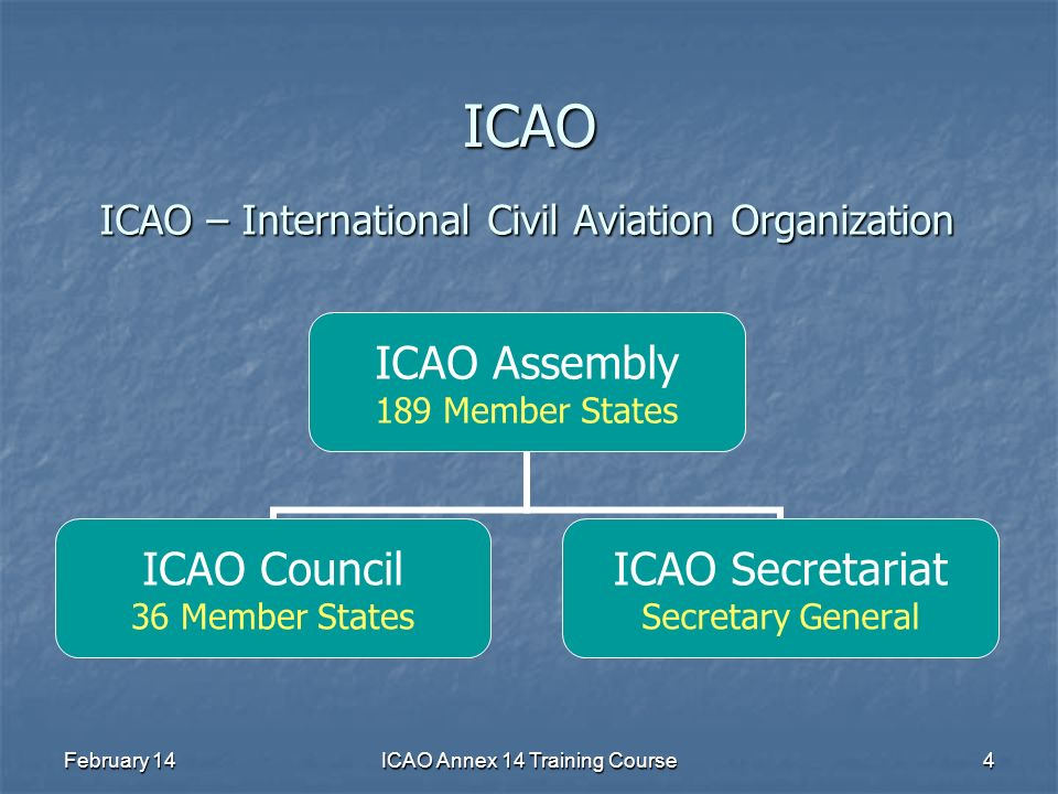 ICAO Annex 14 Training Course