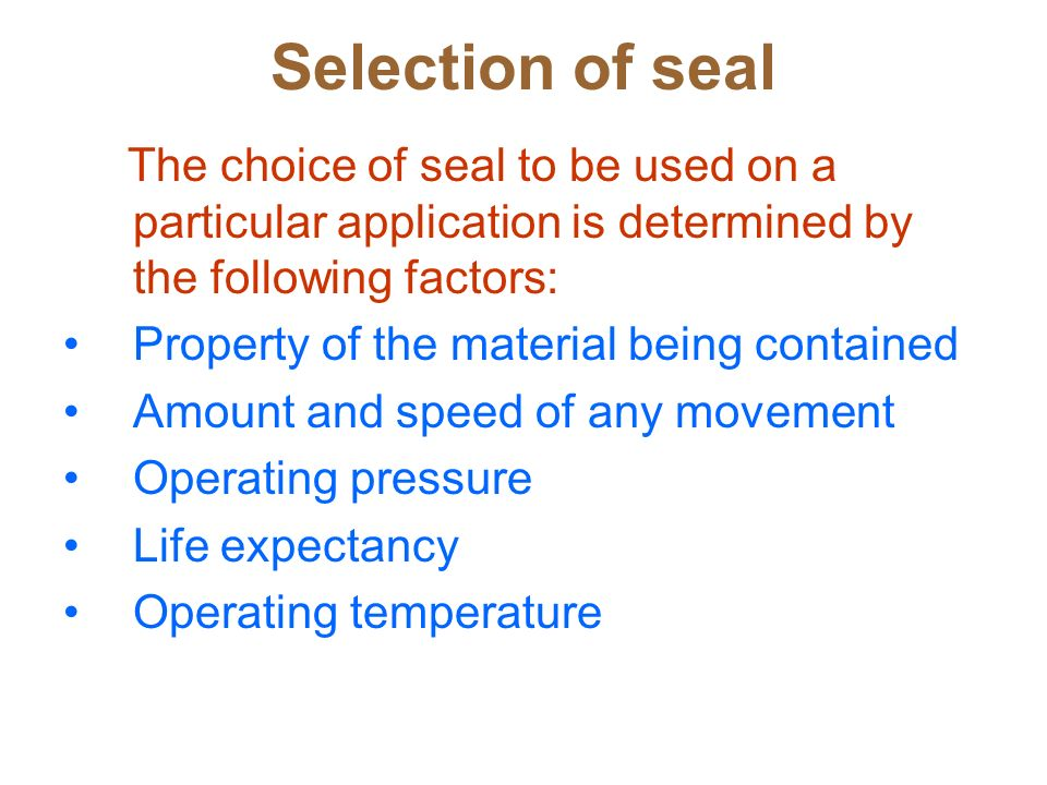 Gaskets & Seals Nizwa College of Technology  - ppt video
