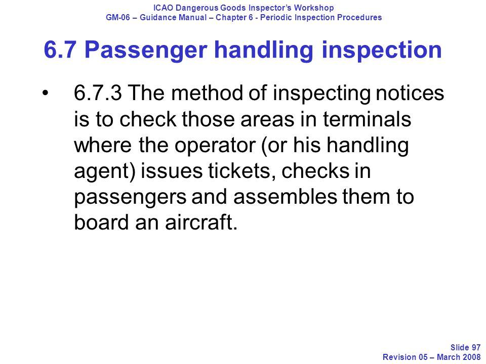 icao dangerous goods inspector workshop ppt download rh slideplayer com Process Manual passenger service manual lufthansa