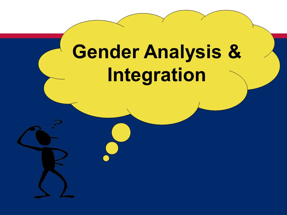 Gender Analysis & Integration