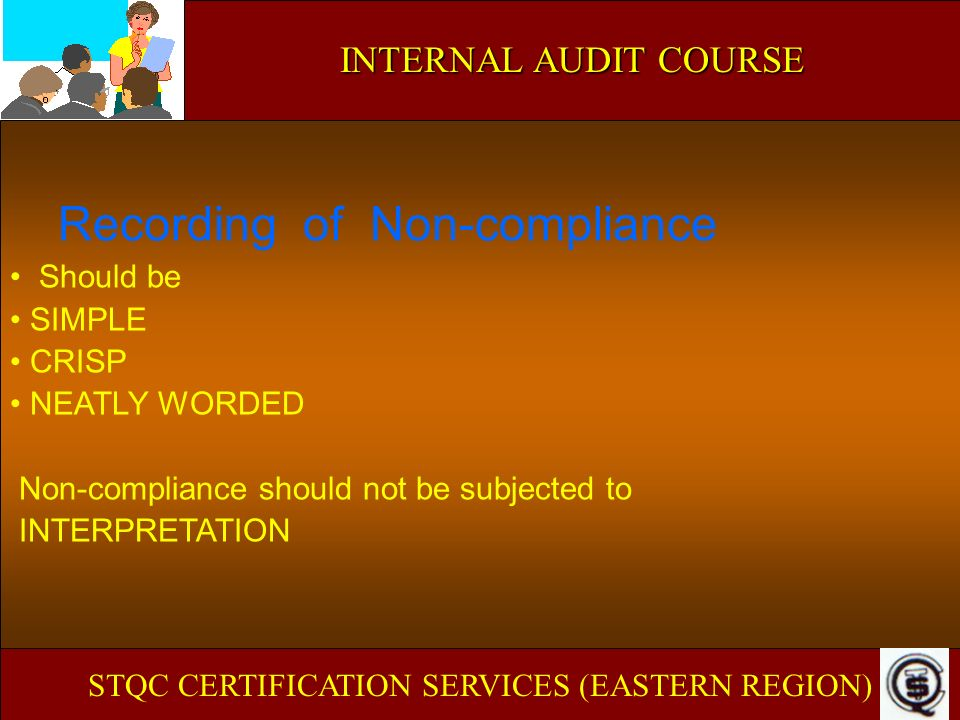 STQC CERTIFICATION SERVICES (EASTERN REGION)