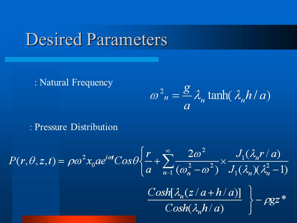 : Pressure Distribution