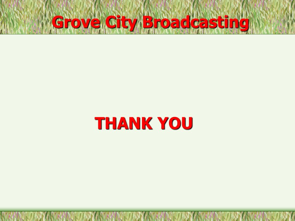 Grove City Broadcasting