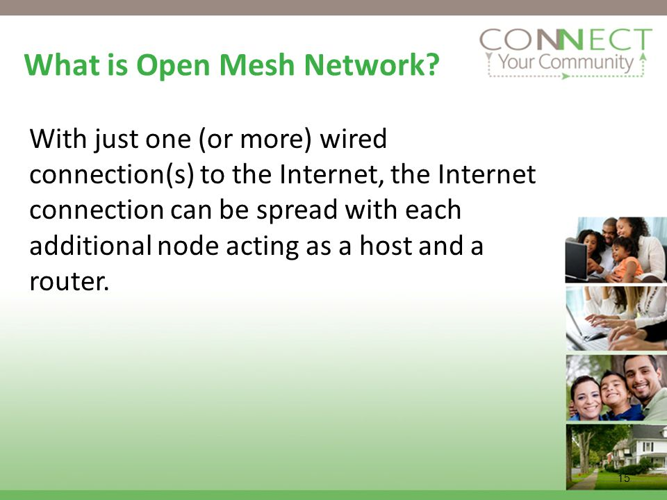 What is Open Mesh Network