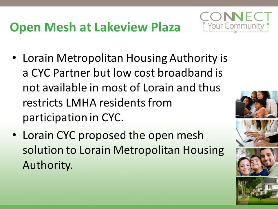 Open Mesh at Lakeview Plaza