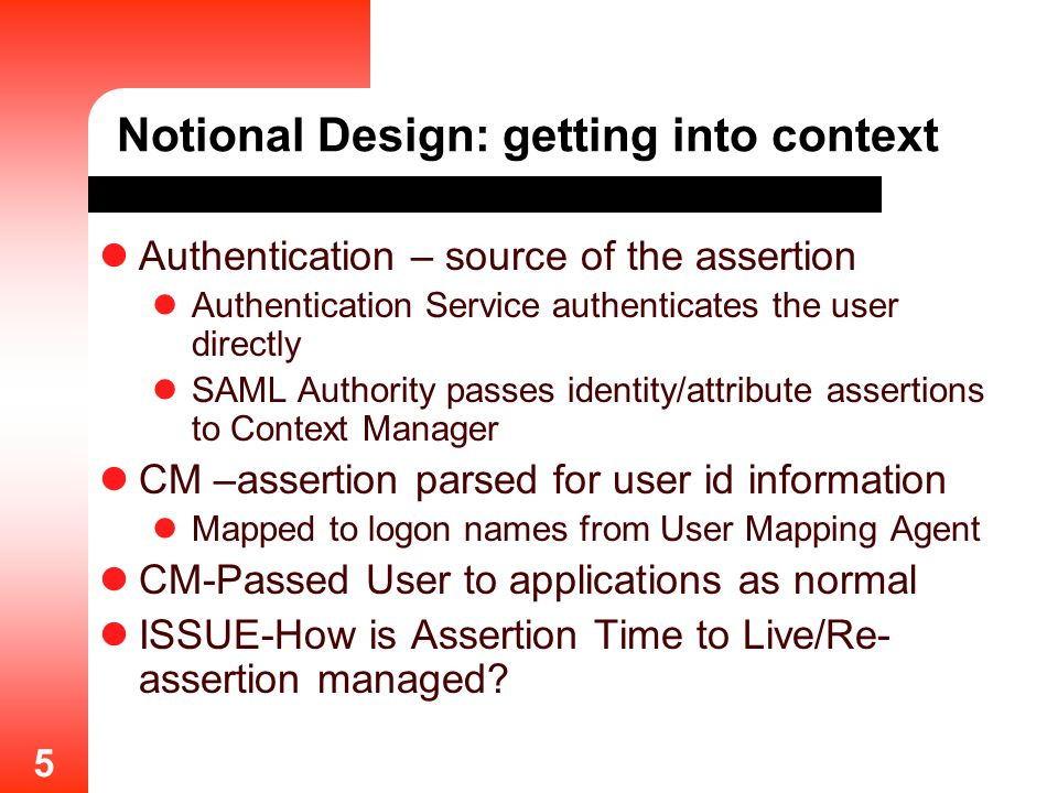 Notional Design: getting into context