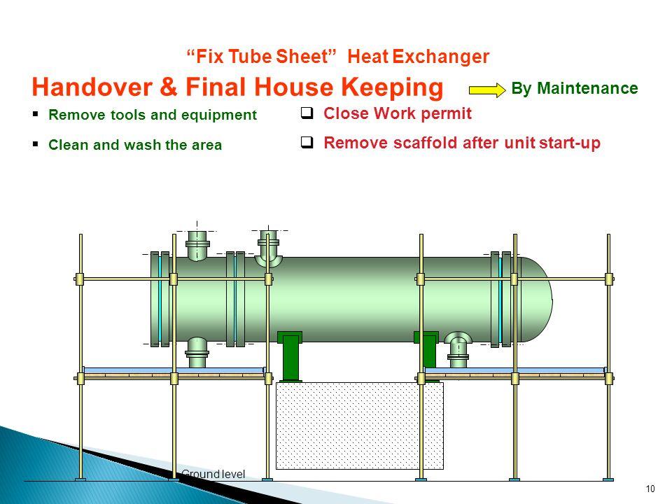 """Fix Tube Sheet"" Heat Exchanger - ppt video online download"