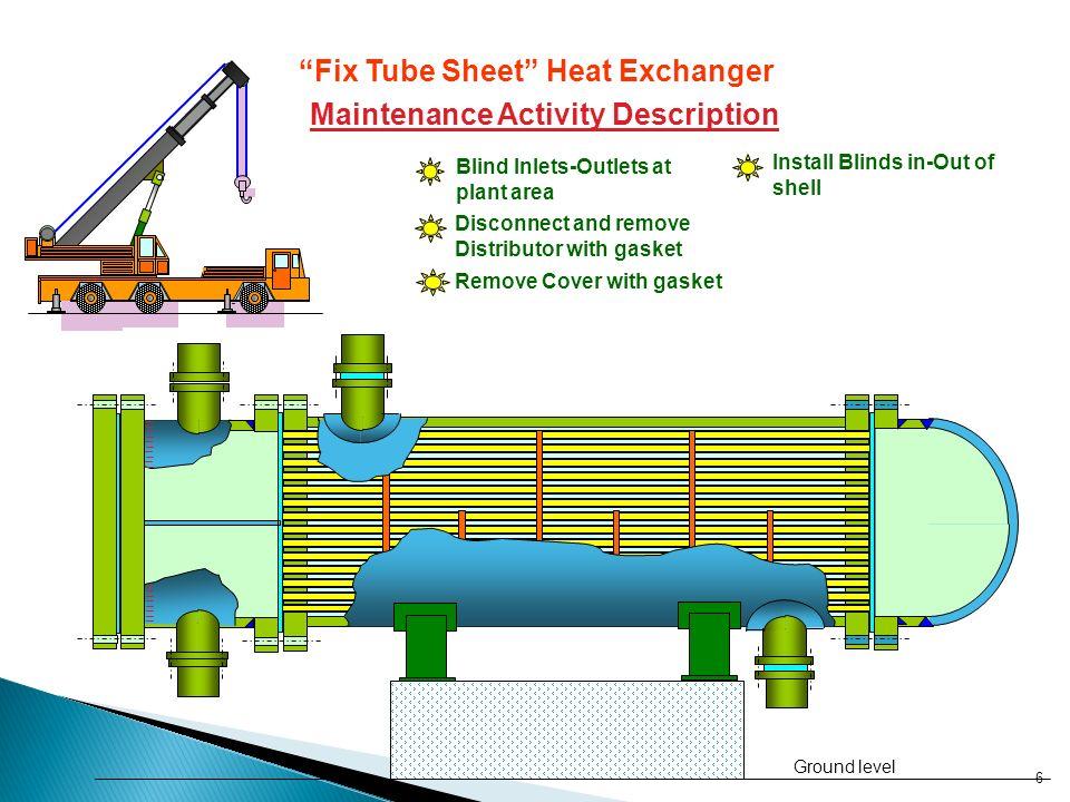 "Fix Tube Sheet"" Heat Exchanger - ppt video online download"