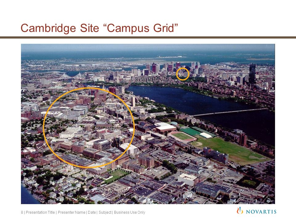 Cambridge Site Campus Grid