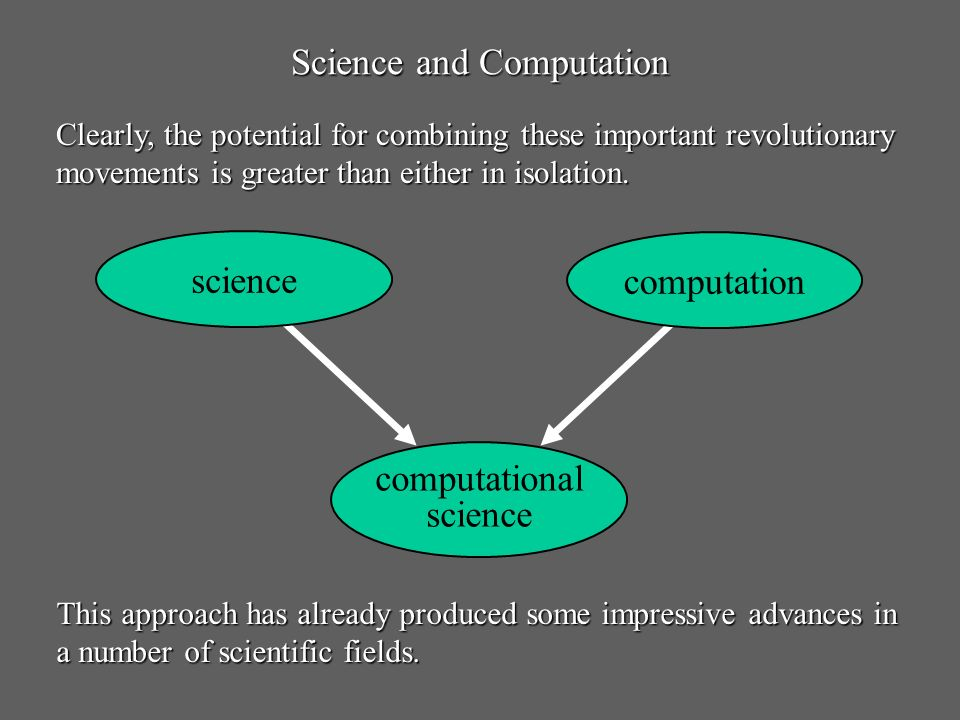 Science and Computation