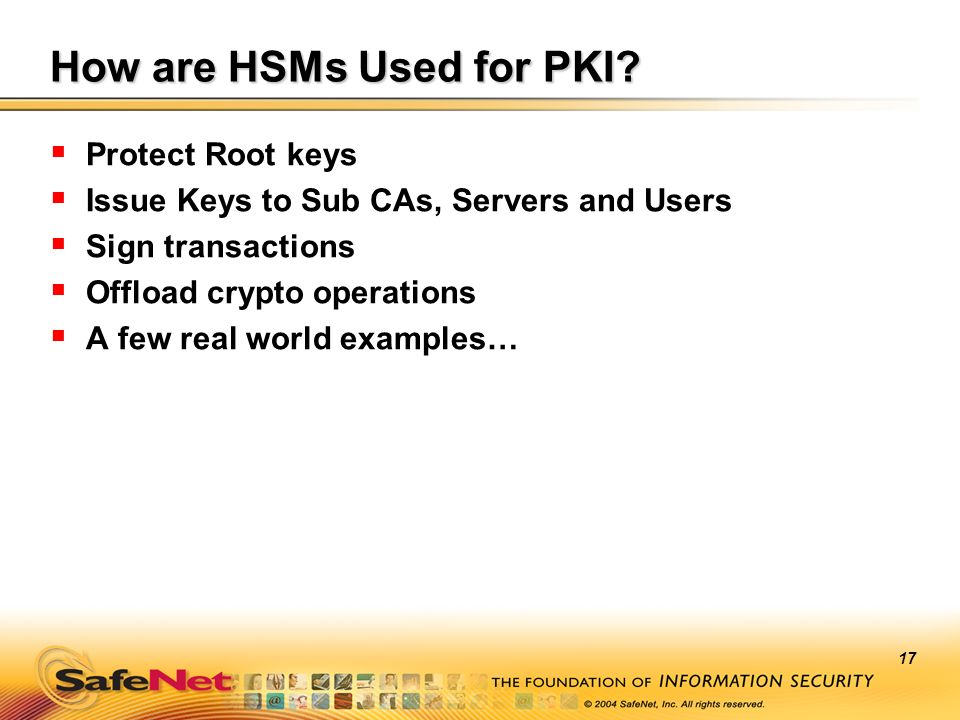 How are HSMs Used for PKI