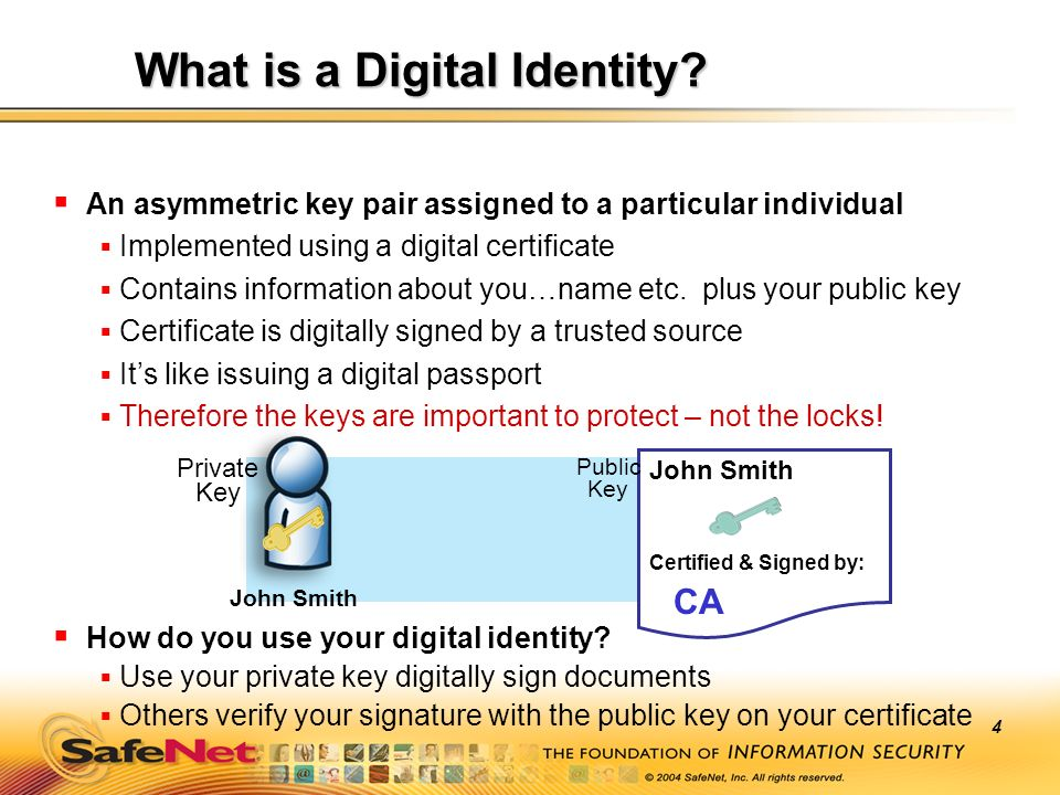 What is a Digital Identity