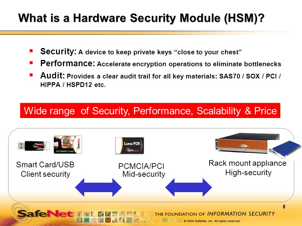 What is a Hardware Security Module (HSM)
