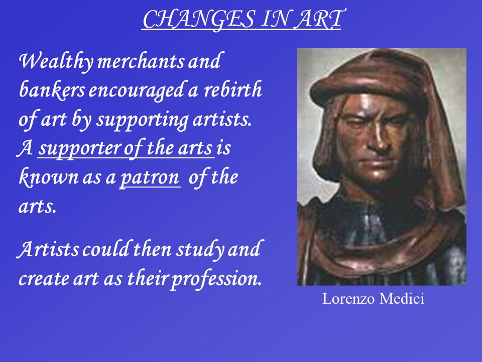 CHANGES IN ART