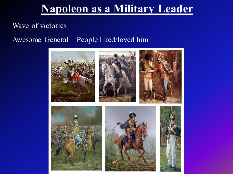 Napoleon as a Military Leader