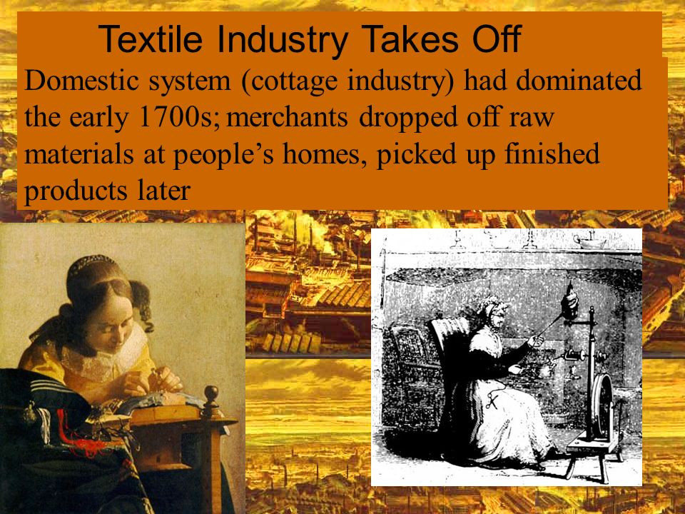 Textile Industry Takes Off