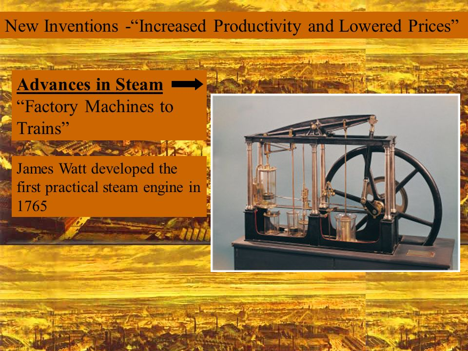 New Inventions - Increased Productivity and Lowered Prices