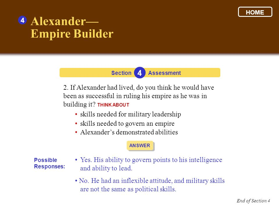 Alexander— Empire Builder 4 4