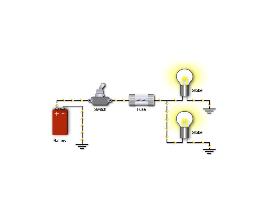 heat hydroelectricity lightning current power static electricity49 closed circuit a closed circuit condition exists when a circuit is complete allowing current to flow