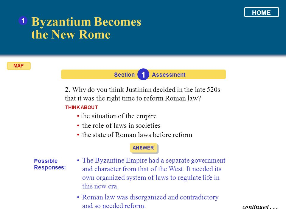 Byzantium Becomes the New Rome 1 1